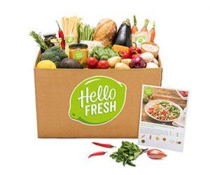 HelloFresh veggiebox
