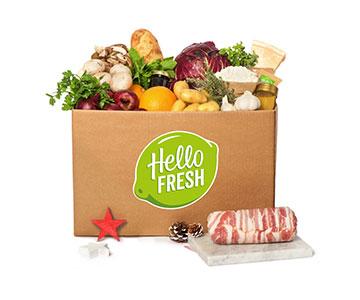 HelloFresh kerstbox 2016