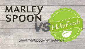Marley Spoon vs HelloFresh