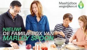 Marley Spoon Familiebox