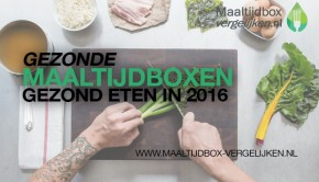 gezonde maaltijdbox