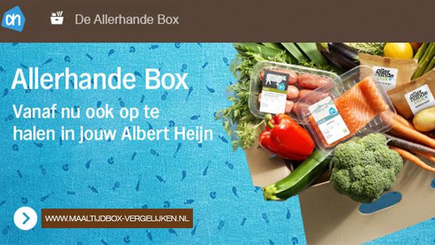 Allerhande Box in Albert Heijn