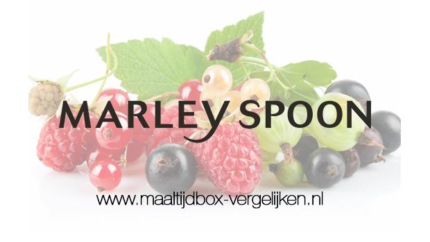Marley Spoon Fruitbox