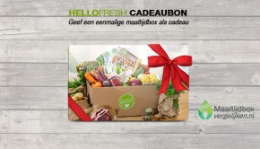 hellofresh cadeaukaart