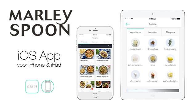 Marley Spoon app