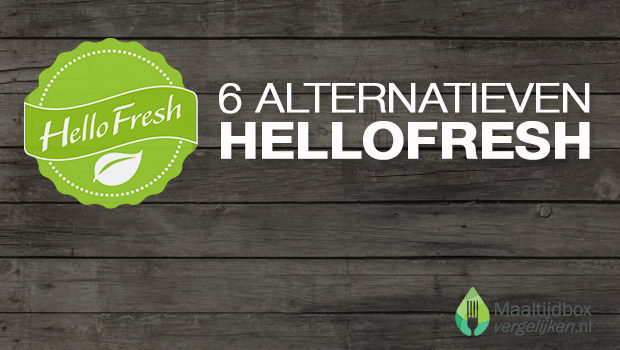 alternatieven voor hellofresh