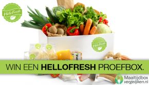 win een hellofresh maaltijdbox
