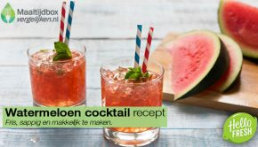watermeloen cocktail recept