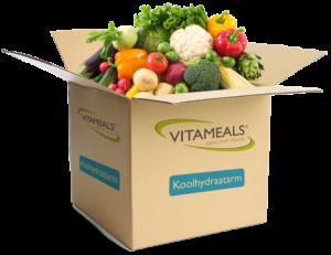 Vitameals koolhydraatarme maaltijdbox
