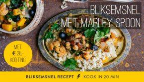 bliksemsnelle recepten van marley spoon